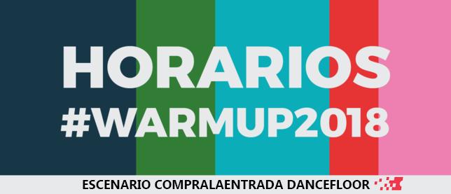 WARM UP DANCEFLOOR COMPRALAENTRADA