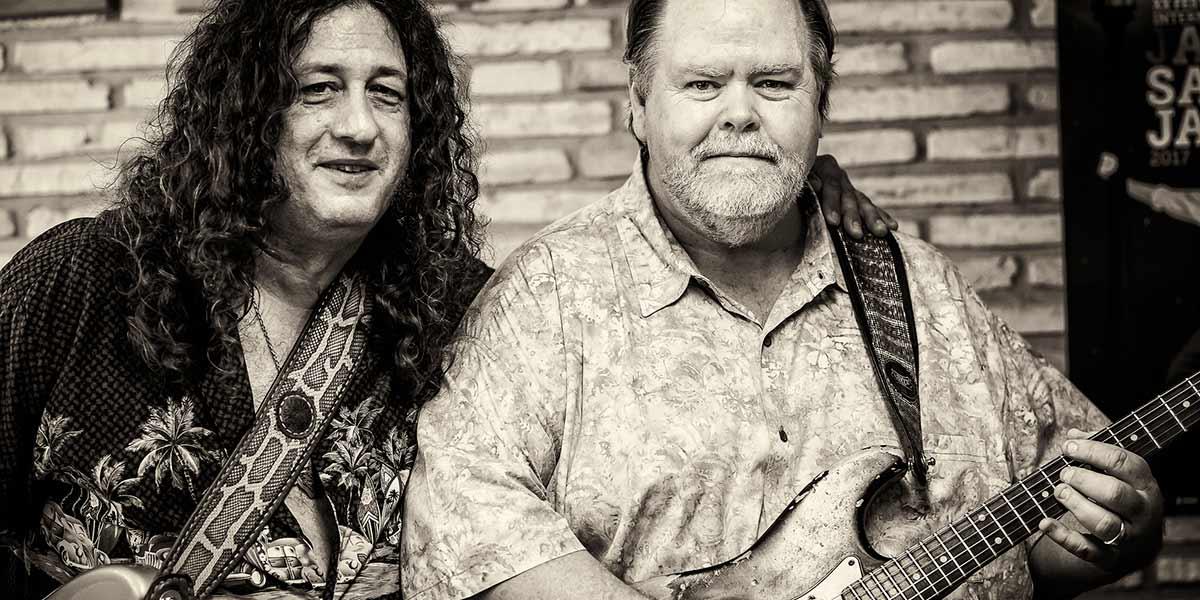 Buddy y Santiago Campillo